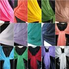 VISCOSE PASHMINA WRAP STOLE SCARF BUY 5 GET A 6TH ONE FREE SEE AD FOR DETAILS***