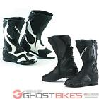 SPADA ST1 WP WATERPROOF LEATHER MOTORCYCLE MOTORBIKE RACE BOOTS GHOSTBIKES
