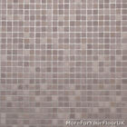 3.8mm Thick Vinyl Flooring Grey Small Tile, Silver Grouting Lino Kitchen 4m Wide