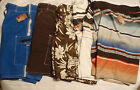 ARIZONA Cargo or Boardwalk Mens S L Choice Swimsuit Swim Trunk NWT Brown Blue