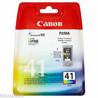 Canon 1 x CL-41, CL41 Colour Original OEM PIXMA Inkjet Cartridge