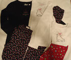 GIRLS Christmas legging Long Sleeve Shirt Outfit Size XS or Small Choice NWT