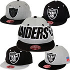 NFL Oakland Raiders Mitchell & Ness Throwback Hats   Many Styles, Colors, Sizes