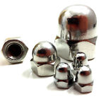 M6 (6mm) A2 STAINLESS STEEL DOME NUTS - DIN 1587 - METRIC THREAD - QUAD, BIKE