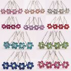 Wholesale  Women & Girls Crystal  Hair Pins For  Party /Festival Free Shipping