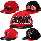 Atlanta Falcons NFL Mitchell & Ness Throwback Fitted Hats | Flat Brim, 2 Toned