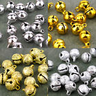 Brass Jingle Bells Charm Bead Finding 6mm 8mm 10mm 12mm 16mm gold silver