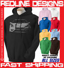 TOYOTA CELICA SPORTS CAR HOODIE DTG ALL SIZES & COLOURS AVAILABLE R54
