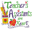 TEACHER ASSISTANTS ARE ALL HEART, New White T-Shirt