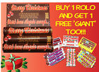 Personalised Christmas Rolos & FREE LOVE HEARTS - Stocking Filler/Gift/Present