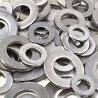 FORM A - THICK ZINC PLATED STEEL WASHERS - DIN125A - FREE POST - WASHER