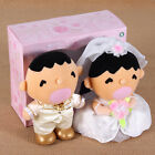 SANRIO MINNA NO TABO WEDDING PLUSH DOLL COUPLE GIFT BOX (WEST/CHINESE)