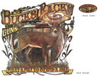 BUCKS, RACKS & GUNS, WHAT A WAY TO SPEND A DAY, Deer Hunting, New T-ShirtT-Shirts - 155193