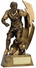 GOLD FLASH Football Player Resin Football Trophy FREE ENGRAVING
