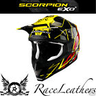 SCORPION VX-15 SPRINT YELLOW MX MOTOCROSS ENDURO ATV DOWNHILL MOTORCYCLE HELMET