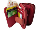 Leather Purse Soft REAL Italian Leather ladies Womens Coin Small Zipped 059M
