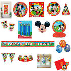 Mickey Mouse Clubhouse Birthday  Party Decorations Items Tableware Supplies
