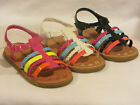 Girl Dress Sandals Multi Colored (ny36) TODDLER Dress Shoes Pageant Party Shoes