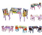 Внешний вид - KIDS CHILDREN'S 3 PIECE TABLE & CHAIR SET - DISNEY CHARACTERS / TV CHARACTERS