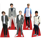 CELEBRITY ONE DIRECTION TABLE STANDEE DESKTOP STANDUP CUTOUT CARDBOARD MASKS 1D