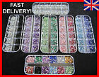 3000pcs RHINESTONES GEMS CRYSTALS NAIL ART 7 DIFFERENT KINDS TO CHOOSE FROM UK