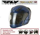 Fly Racing Tourist Multi Style Titanium Helmet Racing New 2013 DOT APPROVED Half