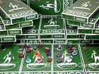Subbuteo ENGLISH CHAMPIONSHIP TEAMS by Zeugo Football Soccer Figures Plastic