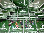 Zeugo * SCOTTISH FOOTBALL LEAGUE teams  * Subbuteo Football Scotland Figures
