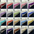 5M*1.35M Top Table Swags Sheer Organza Fabric DIY Wedding Party Bow Decorations