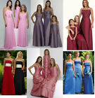 NEW Bridesmaid Dress, prom/evening GOWN UK SIZE 4,6,8,10,12,14,16 flower girl