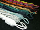 Reef Thick Chunky Rope Curtain Tie Backs  - SOLD IN PAIRS IN A RANGE OF COLOURS