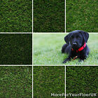 Realistic Artificial Grass. Fake Green Lawn Patios Gardens Landscapes Terraces