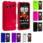 Color Hard Snap-On Rubberized Case Cover for HTC Droid Incredible 6300 Phone