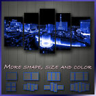 ' Las Vegas ' Modern Contemporary Cityscape Art Decorative Wall Canvas