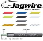 JAGWIRE Pre Lubricated Bike Brake Outer Cable Various Colours With End Caps