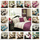 5pc Bed in a Bag Bedding Duvet Quilt Cover Set in 24 Designs, Double & King Size