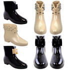 LADIES WOMENS LOW FESTIVAL SUMMER WINTER WELLIES WELLINGTON ANKLE BOOT SHOE SIZE