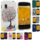 Color Design Hard Snap-On Rubberized Case Cover for LG Google Nexus 4 E960 Phone