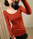 Women Girls  Sexy Net Yarn Lace Long Sleeve Top Fashion T-shirt 4 Colors NEW