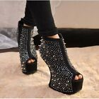 Super Fashion Platform Studded Spiked Gorgeous Stiletto shoes High Heels