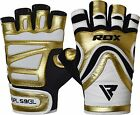 RDX Weight Lifting Gym Gloves Fitness Crossfit Bodybuilding Training Workout GD
