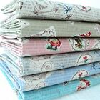 RED RIDING HOOD - VINTAGE CHIC 100% COTTON FABRIC text writing fairy story girls