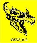 Large Skull Vinyl Car Van Stickers/ Decals Massive selection WSV2_013