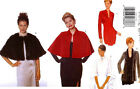 2001 Evening Cape Jacket Pattern Choice Size 8-24 Butterick 5843 OOP