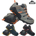 MENS GROUNDWORK SAFETY TRAINERS STEEL TOE CAP WORK LACE UP SHOES TRAINERS BOOTS