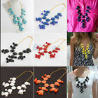 BF0U Jewelry Accessories Womens Bubble Necklace Bib Statement Black Red Blue