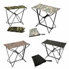 Folding Camping Stools - Camouflage Hiking Chair-Foldable Outdoor Stool w/ Bag