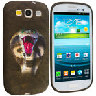 Color TPU Design Rubber Soft Skin Case Cover for Samsung Galaxy S3 S III Phone