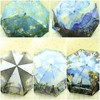 FAMOUS PAINTING AUTO OPEN /AUTO CLOSE UV-COATING WINDPROOF 3 FOLD UMBRELLA