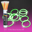 "Wholesale Glow Sticks Glow Bracelets 8"" Glowsticks Neon Bulk - FREE P&P"